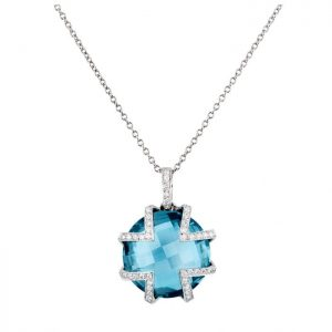 Cktl Necklace Blue-Mimata