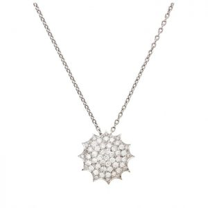 Polar Necklace-white gold and diamonds
